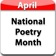 National Poetry Month Poem-a-Day
