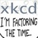 XKCD Time Factorisation