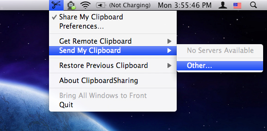 ClipboardSharing