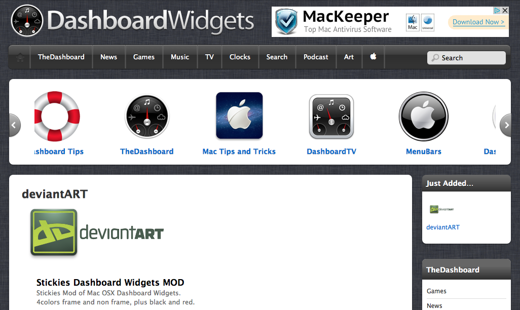 http://dashboard.widgets.onemac.net