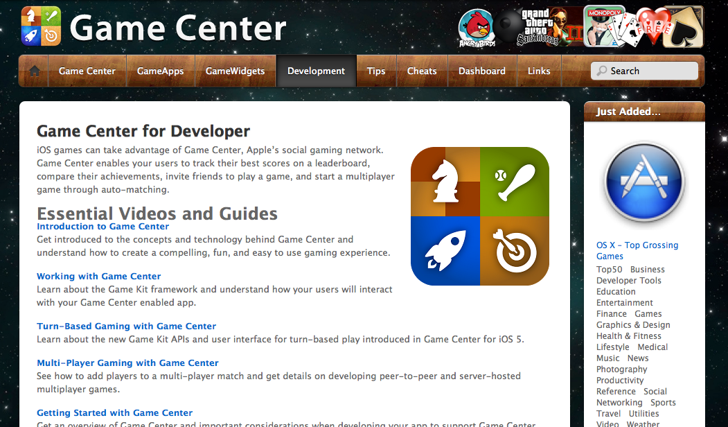 www.gamecenter.onemac.net